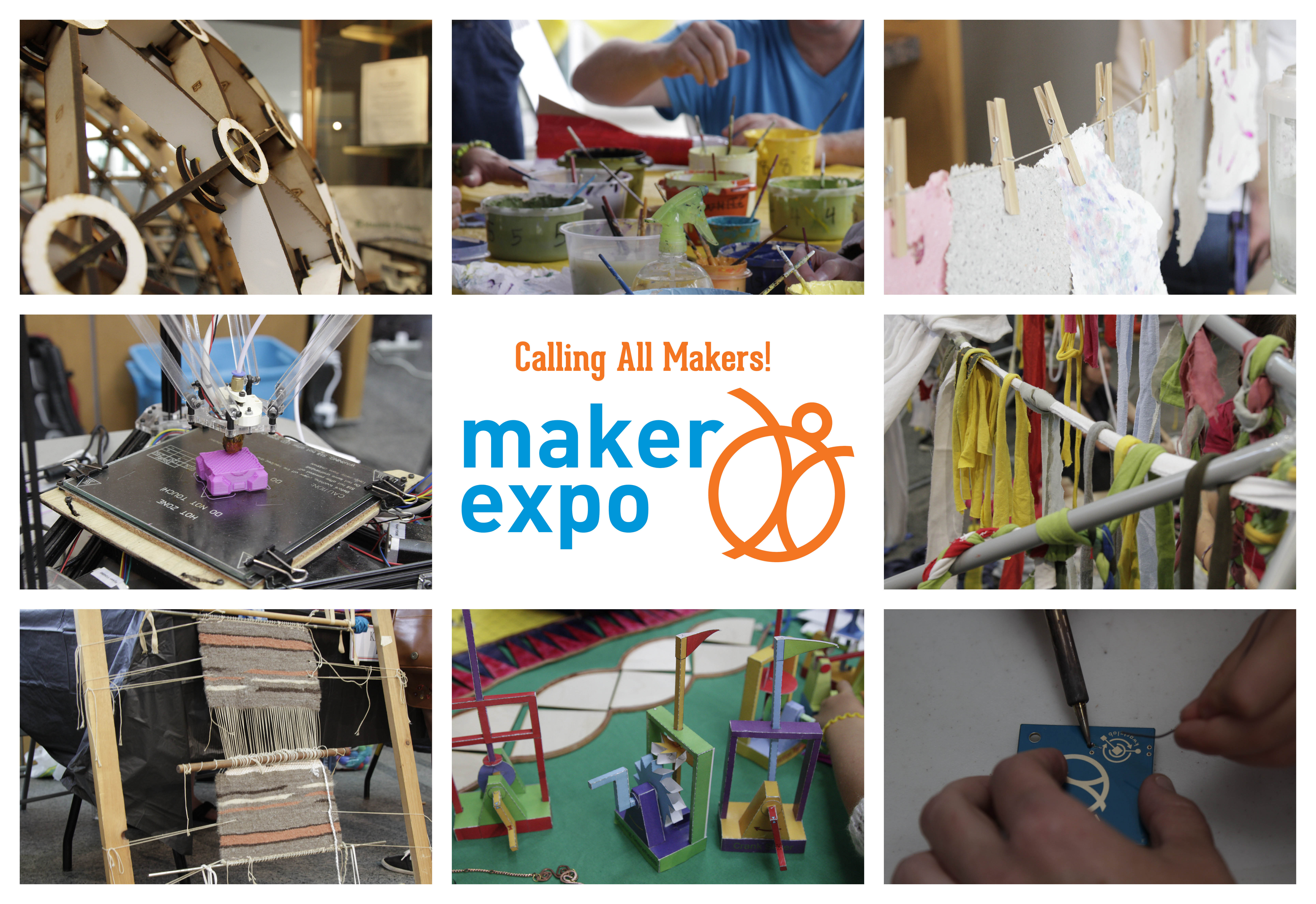 Mosiac photos from maker expo 2015